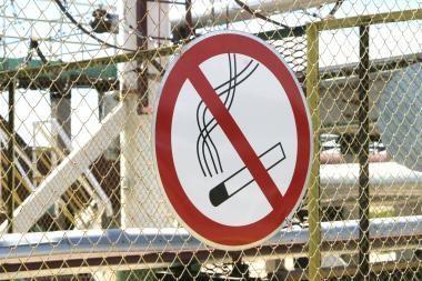 Uždrausta prekiauti elektroninėmis cigaretėmis
