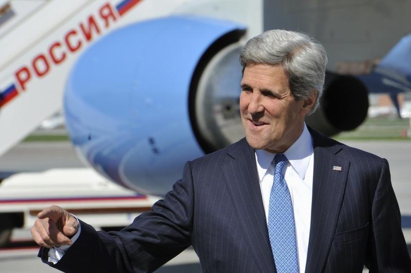 JAV valstybės sekretorius J. Kerry grįš į Izraelį gegužę