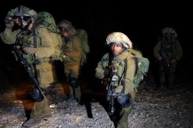 Izraelio karinės pajėgos įžengė į Gazą