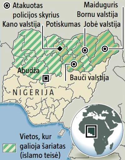 Verslininkams siūloma plėtoti verslą Nigerijoje