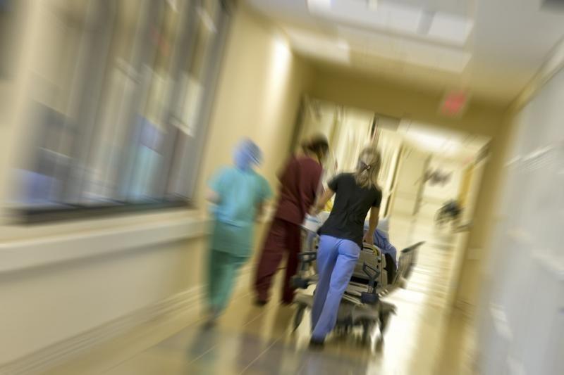 Ligoninės priimamasis: vyras pasieniečius kaltina smurtu