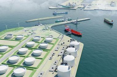 Latvija irgi galvoja apie suskystintų gamtinių dujų terminalą