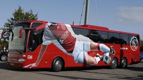 Stilingiausi futbolo komandų autobusai (foto)