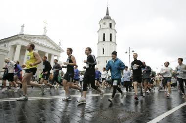 Sostinėje - tradicinis Naujųjų metų bėgimas