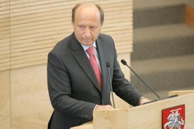 Premjeras: paremdama partijas 4 mln. litų, Vyriausybė vykdė Seimo sprendimą