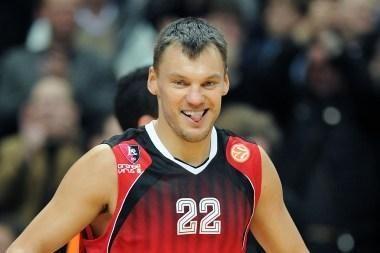 Blogiausių Eurolygos septintojo turo žaidėjų penkete - Š.Jasikevičius
