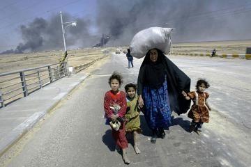 Vokietija ragina ES šalis priimti daugiau Irako pabėgėlių