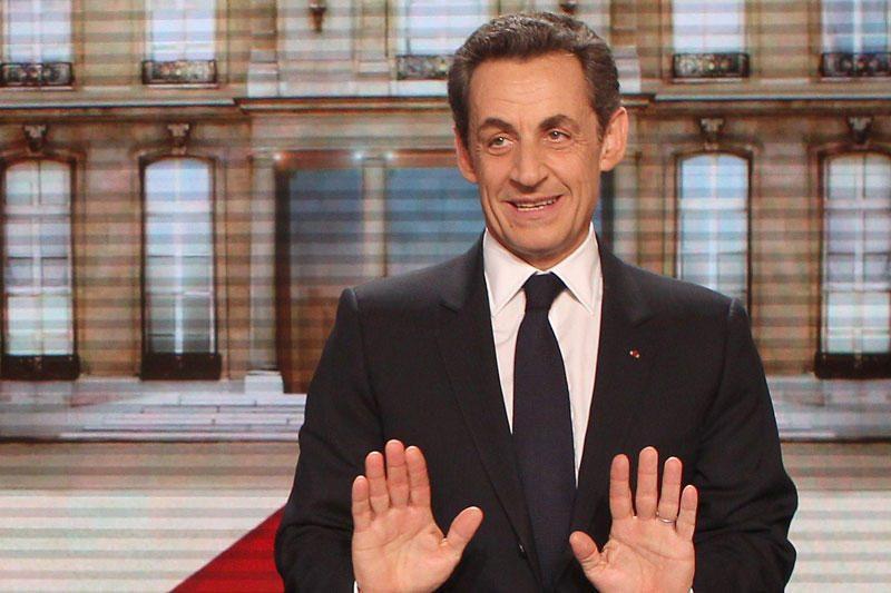 N.Sarkozy pirmąkart prognozuojama pergalė pirmame ture