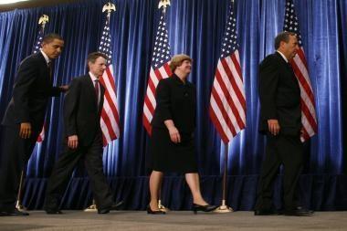 B.Obama subūrė ekonomikos gelbėtojų komandą