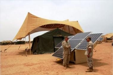 JAV kariuomenė: už 10 metų - 50 proc. energijos iš atsinaujinančių šaltinių