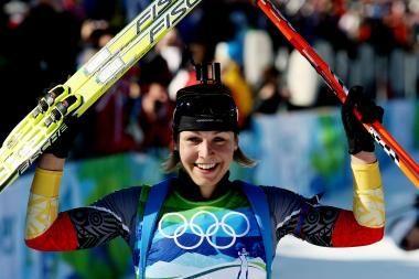 Paskutinėje individualioje biatlono rungtyje - dar viena M.Neuner pergalė