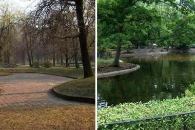Sereikiškių parkas - su čiuožyklomis ir fontanais