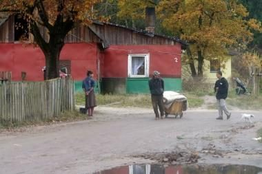 Aplinkos ministerija romų taborui nenuolaidžiaus
