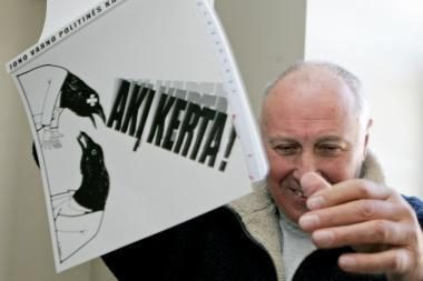 Žvėryno seniūnijoje atidaroma J.Varno karikatūrų paroda