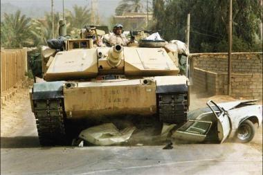 JAV pirmąkart dislokuos Afganistane savo sunkiuosius tankus