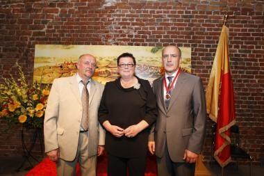 Klaipėdos gimtadienį apdovanoti garbingiausieji