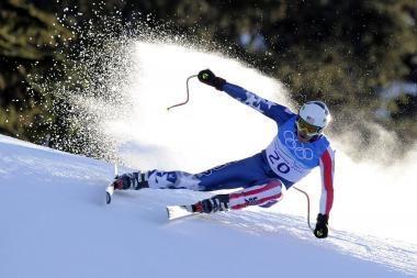 Kalnų slidinėjimo dvikovės rungtį laimėjo amerikietis