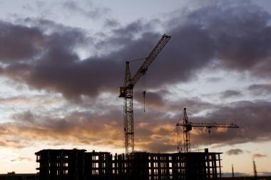 Latvijoje bedarbių statybininkų gretos 2009-aisiais beveik padvigubėjo