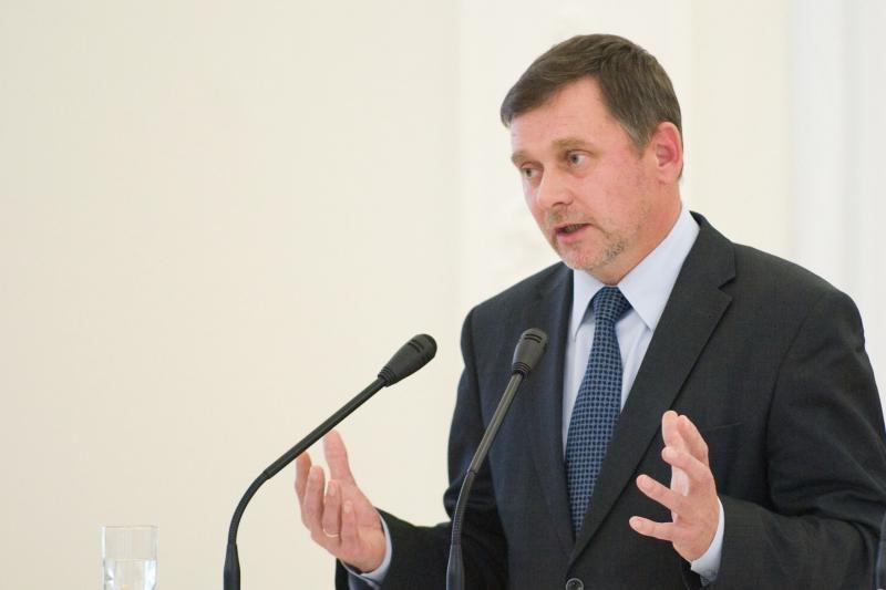 Dėl TS-LKD pirmininko posto kovos V. Stundys