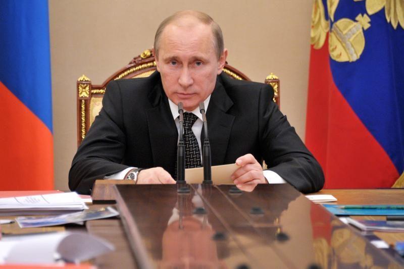 Rusijos prezidentas V. Putinas švenčia 60-ąjį jubiliejų