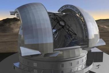 Europa pasirinko vietą didžiausiam teleskopui