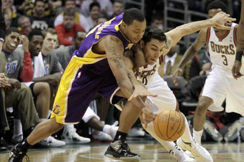 """""""Lakers"""" startinio penketo žaidėją kurį laiką išlaikė jo draugė"""