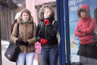 Orai Kaune: bus šalta, giedra ir nepanašu į pavasarį