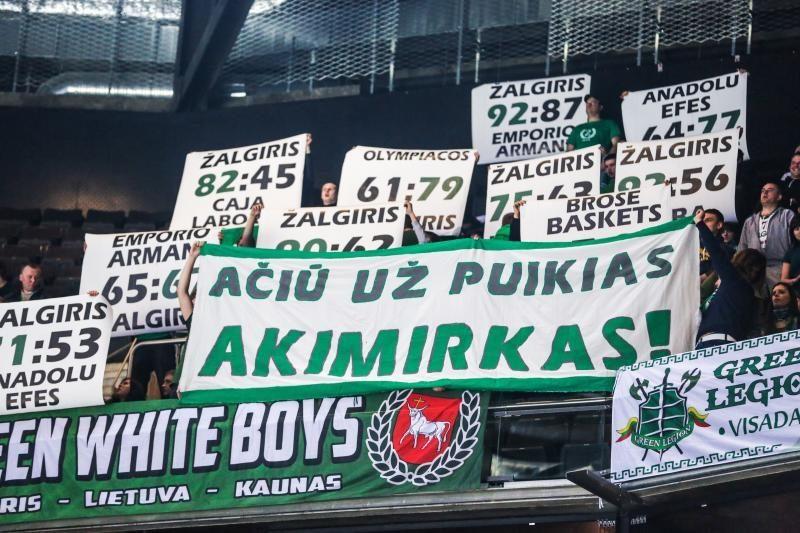 """Kauno """"Žalgirio"""" arena - lankomiausia visoje Eurolygoje!"""