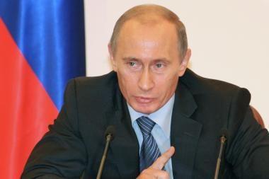 V.Putinas: konfliktą Gruzijoje surežisavo JAV
