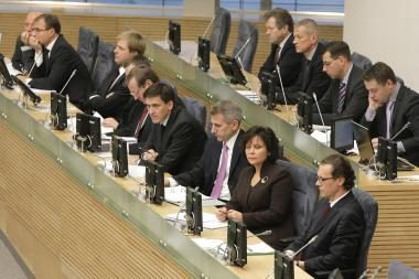 Premjeras ir ministrai apskųsti etikos sargams