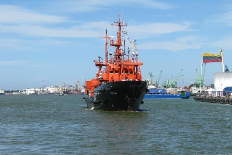 """""""Šakiai"""" išplaukia į gelbėjimo pratybas Baltijos jūroje"""