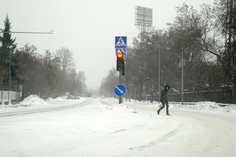 Naktį Lietuvoje snigs, numatoma silpna pūga