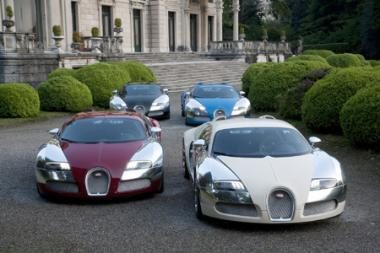 """Bugatti"" reveransas istorijai"