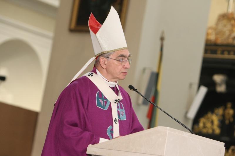 Kardinolas A.J.Bačkis: Lietuva eina pirmyn, matosi daug gražių dalykų