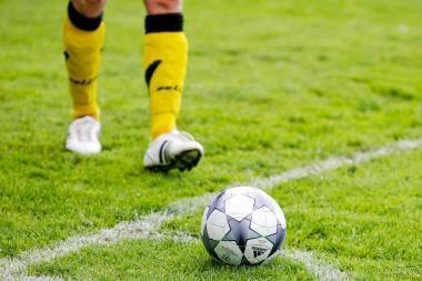 """A lygos lyderiais tapo """"Sūduvos"""" futbolininkai"""