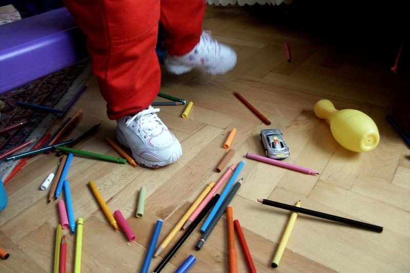 Prancūzijos moksleiviai mokykloje pameta 1 tūkst. tonų daiktų