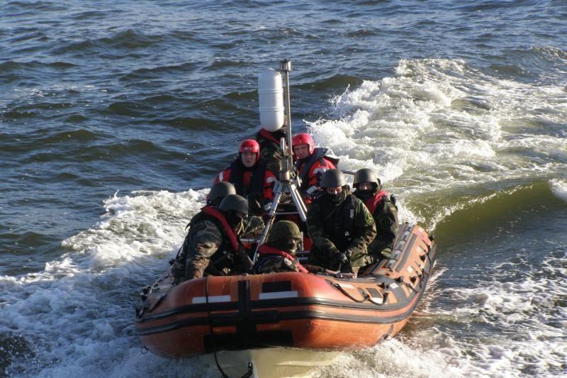 Baltijos jūroje sulaikytas laivas su narkotikais (foto)