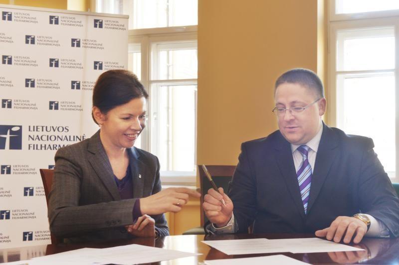Palanga bendradarbiavimą su filharmonija įtvirtino sutartimi