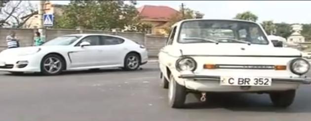 "Anekdotas iš gatvės: ""Zaparožietis"" įsirėžė į ""Porsche"""