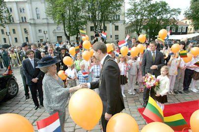 Kaune lankėsi karalienė Beatričė (dar papildyta)