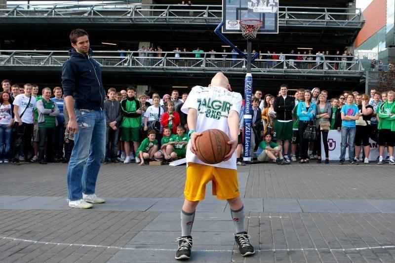 Klaipėdos vaikai kviečiami į gatvės krepšinio varžybas