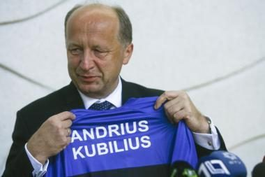 A.Kubilius: pinigai partijoms buvo paskirstyti, kad būtų padengtas įsiskolinimas