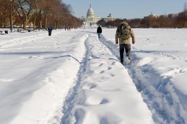 Pasibaigus konferencijai dėl atšilimo, pasaulį sukaustė šaltis