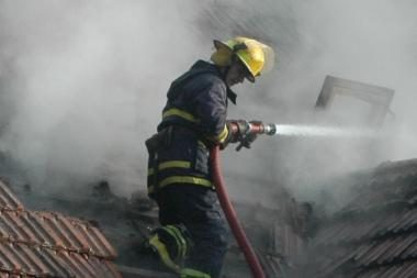 Vakar Lietuvoje kilo 44 gaisrai