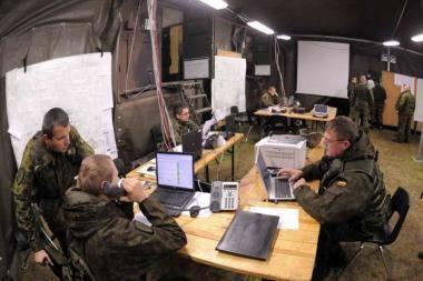 Nemenčinėje – tarptautinės operacijų planavimo pratybos
