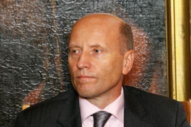Ministras R.Palaitis Klaipėdoje domėsis, kaip pasirengta potvyniui