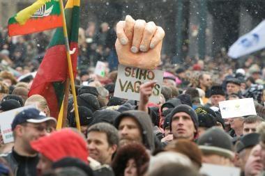 Profsąjungų lyderiai nekalti dėl riaušių prie Seimo