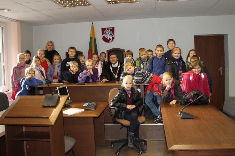 Klaipėdos miesto apylinkės teismą aplankė trečiokai