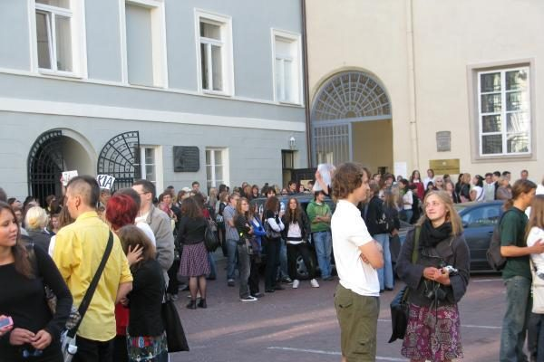 VU tarptautiniame reitinge aplenkė Estijos Tartu universitetą