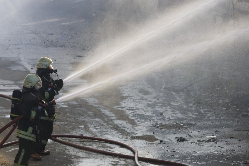 Zarasų rajone per gaisrą sudegė žmogus